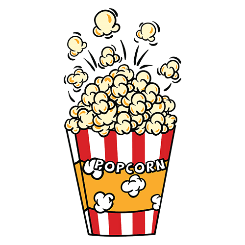 Pop corn pocket