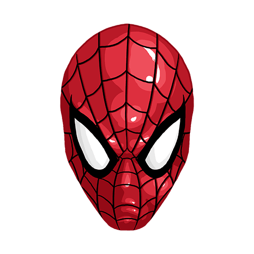 Щампа - Сpiderman mask