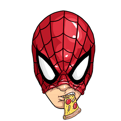 Щампа - Spiderman pizza