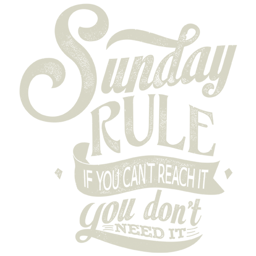 Sunday rule